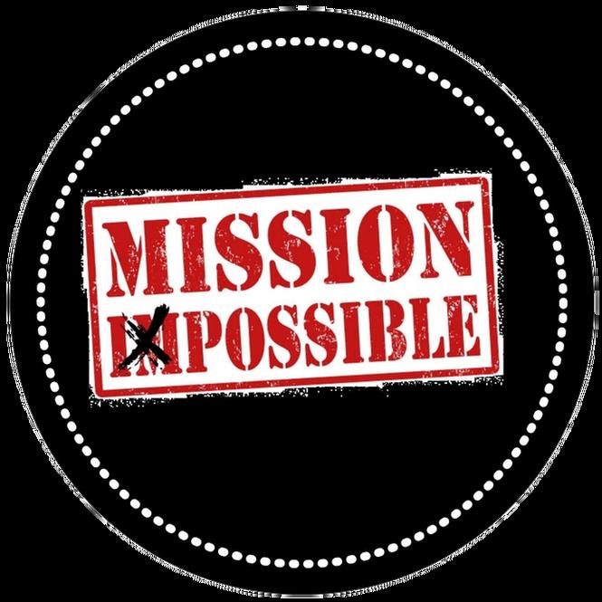 Открытки, картинка с надписью миссия невыполнима